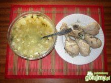 Zupa szparagowa z pekinska