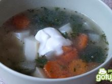 Zupa szparagowo-kalarepowa
