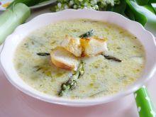 Zupa szparagowo-porowa