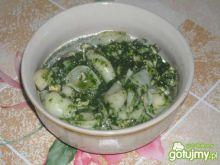 Zupa szpinakowa Ani