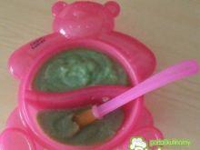 Zupa szpinakowa dla najmłodszych