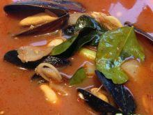 Zupa tajska z mulami