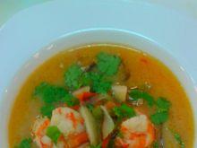 Zupa Tom Yum Goong