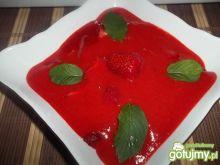 Zupa truskawkowa z ryżem