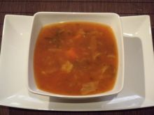 Zupa warzywna na pomidorowo