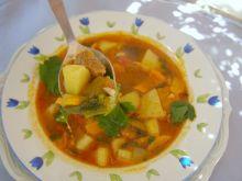 Zupa warzywna na rosole