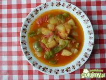 Zupa warzywna z cukinią
