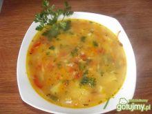 Zupa warzywna z dynią i cukinią