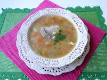 Zupa warzywna z fasolą