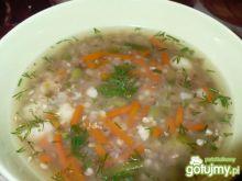 Zupa warzywna z kaszą gryczaną