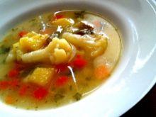 Zupa warzywna z kaszą manną
