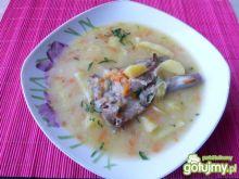 Zupa warzywna z żeberkami