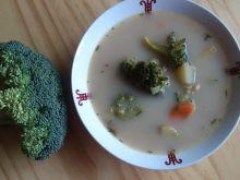 Zupa warzywna z zieloną soczewicą