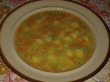 Zupa warzywna zabielana kalafiorem