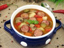 Zupa węgierska z kiełbasą