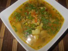Zupa wielowarzywna z botwiną