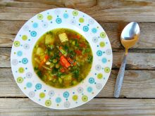 Zupa wiosenna a`la Igraszki Losu