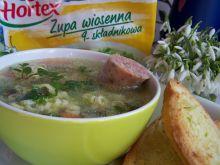 Zupa wiosenna z wkładką