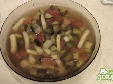 Zupa włoska z bakłażanem
