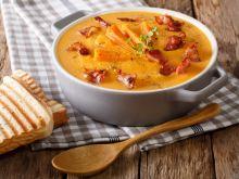 Zupa krem z pieczonych batatów