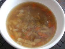 Zupa z boczkiem i warzywami
