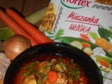 Zupa z boczniakami z włoską nutą