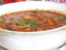 Zupa z boczniaków i mrożonych warzyw