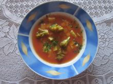 Zupa z brokułem