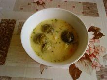 Zupa z brukselkami
