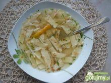 Zupa z bulionetki z naleśnikami