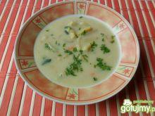 Zupa z cukini z fasolką szparagową