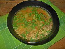 Zupa z cukinią i kaszą jaglaną