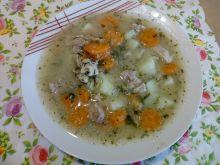 Zupa z cukinii ze śmietaną