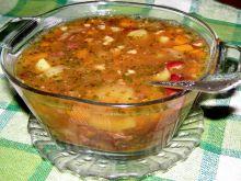 Zupa z czerwonej fasoli z szybkowara