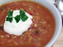Zupa z czerwonej soczewicy