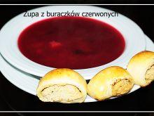 Zupa z czerwonych buraczków