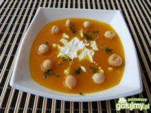 Zupa z dyni z imbirową nutką