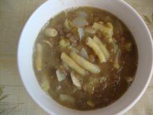 Zupa z fasoli i soczewicy