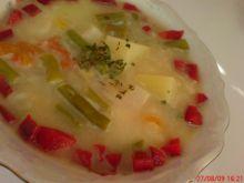 Zupa z fasolką szparagową