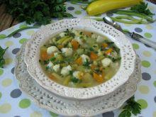 Zupa z fasolowa z kalafiorem