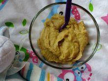 Zupa z gołąbka i młodych warzyw