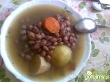 Zupa z grochu malinki