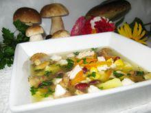 Zupa z grzybami z lodówkowych resztek