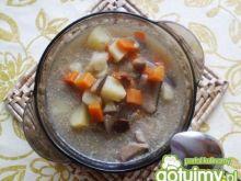Zupa z grzybów leśnych
