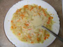 Zupa z kalafiorem i fasolką szparagową