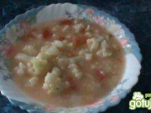Zupa z kalafiorem i ryżem