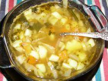 Zupa z kapusty na maśle