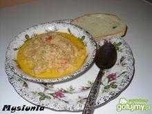 Zupa z kapusty z pomidorem