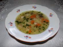 Zupa z kaszą jaglaną na rosole wg Megg
