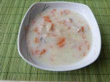 Zupa z kaszą na podrobach